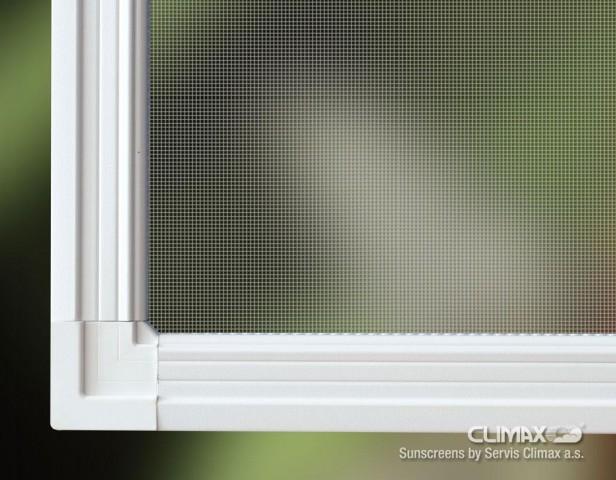Síť do okna či dveří s límcem