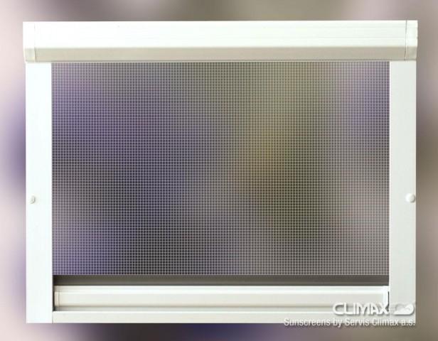 Síť do oken proti hmyzu - Rolo s hákem
