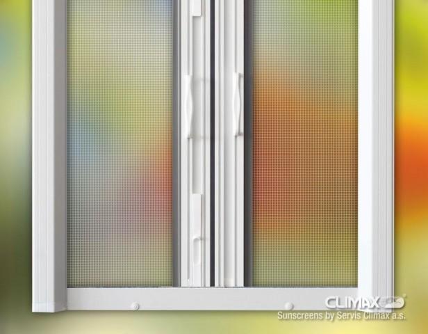 Rolo dveřní  síť - dvojitá č.1