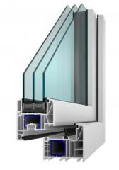 Profil ALFA EVO se stavební hloubkou 82 mm