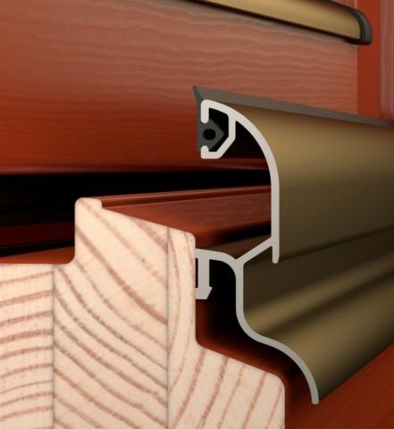 Termookna IV84 - elegantní profil s rozšířenou stavební hloubkou č.2