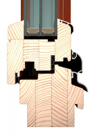 Termookna IV84 - elegantní profil s rozšířenou stavební hloubkou č.3
