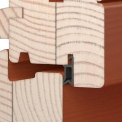 Detail těsnění - exteriér