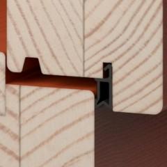 Detail těsnění - interiér