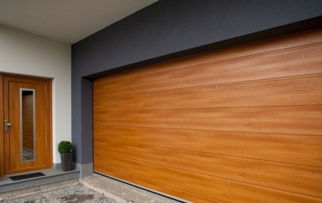 Garážová vrata - Design - drážka