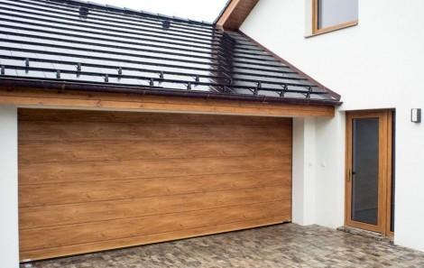 Garážová vrata - Design - drážka č.2