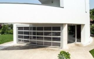 Garážová vrata Design ALU SW č.2