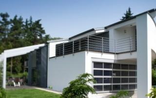 Garážová vrata Design ALU SW č.3
