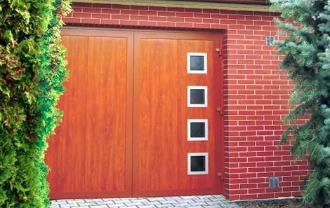 Dvoukřídlá garážová vrata č.3