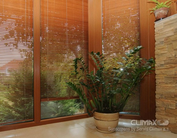 Vnitřní žaluzie Bambus 25